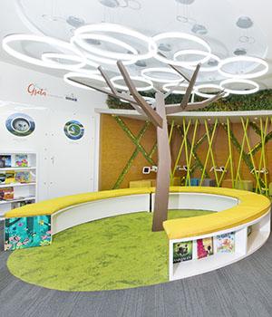 Biblioteca Infantil y Juvenil RD- Parque Greta